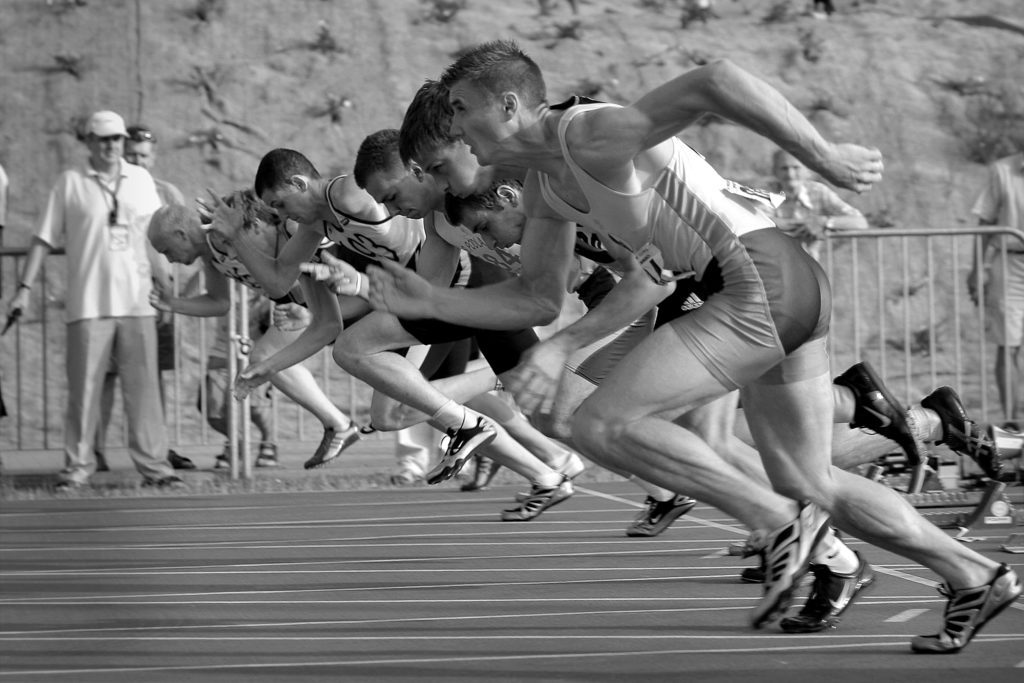 Athletes starting footrace on track should be counted in athletic graduation rates.