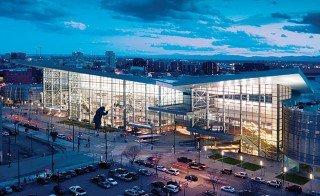 AIR Forum location - convention center building