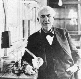 Image of Thomas Edison - American innovator.