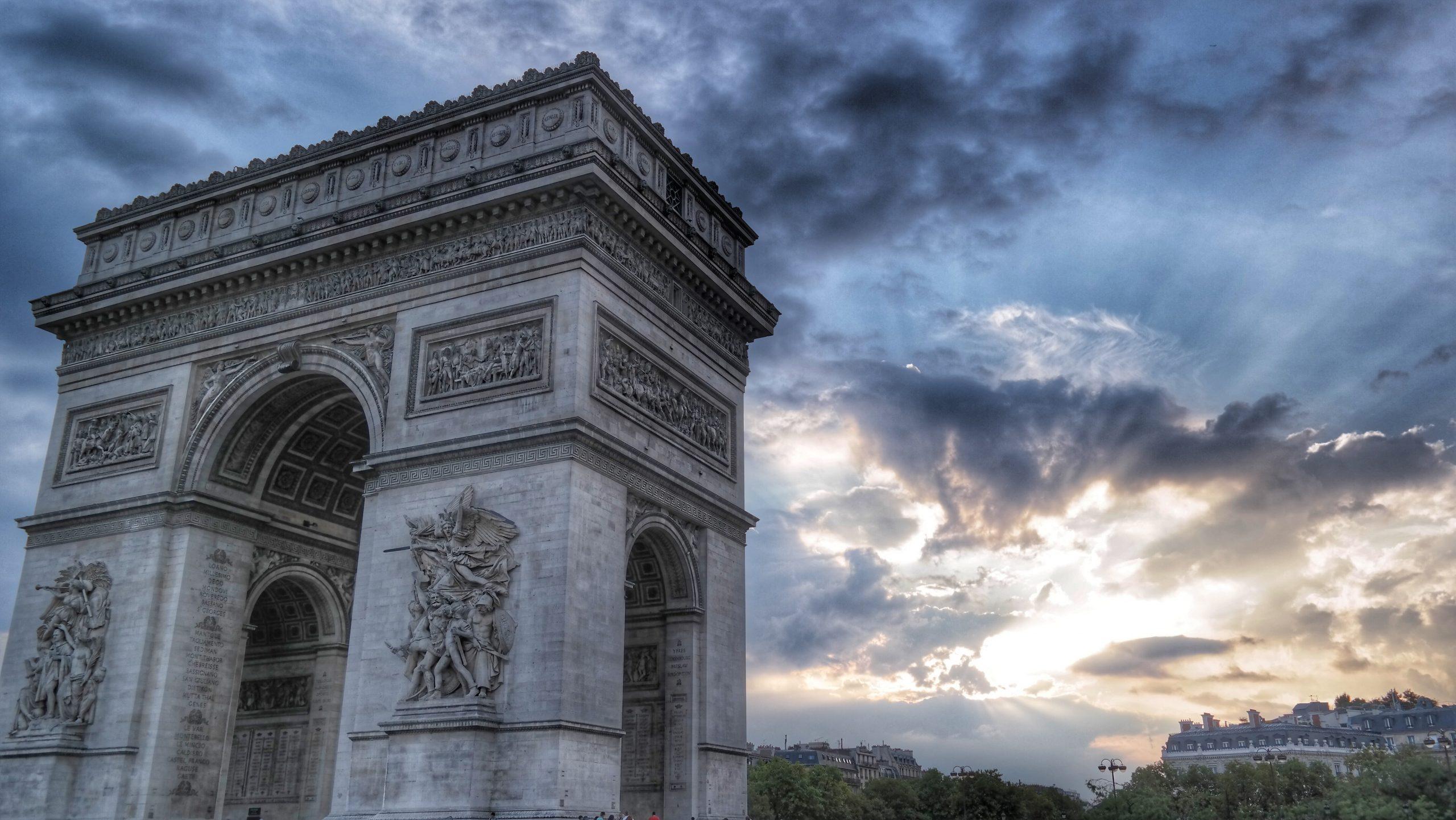 Arc de Triumph symbolizing international studies