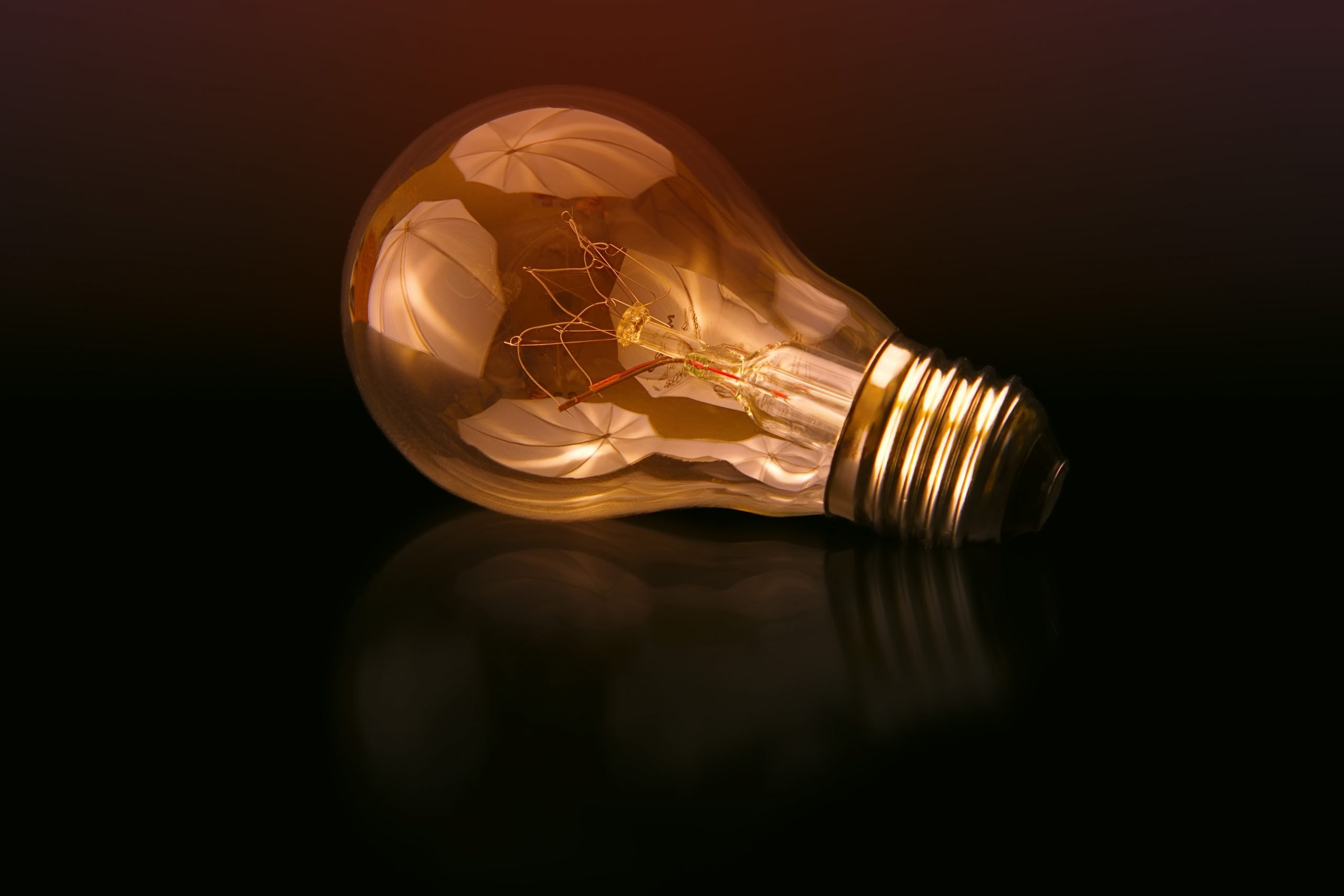 Image is a photograph of light bulb